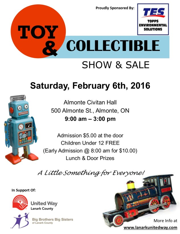 2016 Toy Show Poster